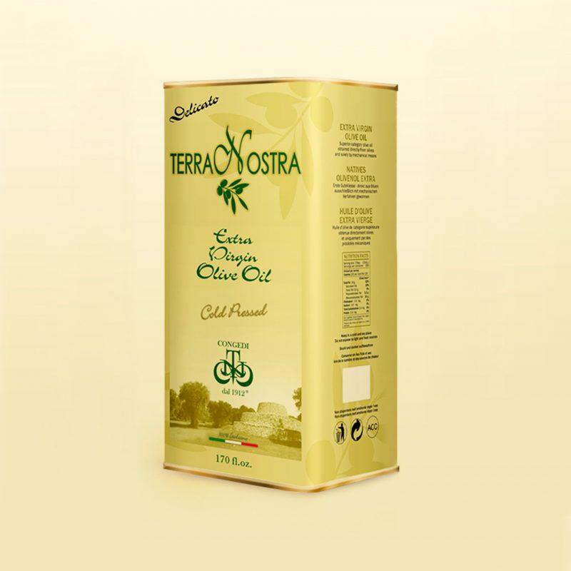 Realizzazione grafica design lattina di olio